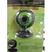 Webcam Con Micrófono Tienda