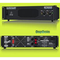 Amplificador Analógico Behringer Ep2000 / Ep2000 Potência