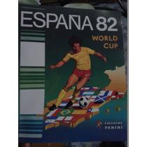 Album Copa Do Mundo España 1982 Panini Impreso Espanha 82