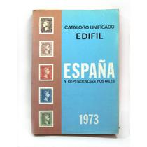 Catalogo De Timbres Postales De España 1973 Vbf
