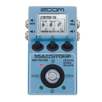 Pedaleira Zoom Ms-70 Cdr Multistomp Guitarra Baixo Ms 70