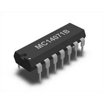 Mc14071b = Nte4071b Compuerta Or 2 Entradas Cmos