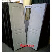 Puerta Placa Madera Interior Craftmaster 80x200 Chapa18