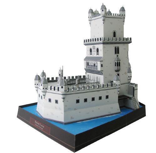 Maquete De Papel 3d Torre De Belem Portugal R 790 Em Mercado
