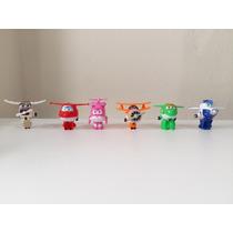 Coleção Super Wings Transformers Miniatura Vários Modelos Ki
