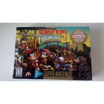 Donkey Kong Country 2 Lacrado Snes Original !!