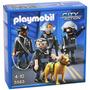 Playmobil City Action Policia Con Perro Art 5565