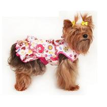 Roupinha Para Cachorro Vestido Estampado Pet Fantasy