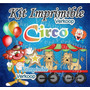 Kit Imprimible Circo + Candy Bar Fiesta