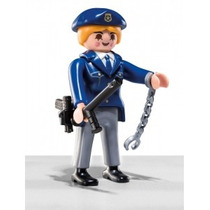 Retromex Playmobil 5459 Figura Serie 6 Policia D Ciudad #2