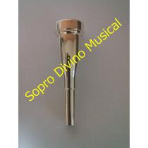 Bocal Prateado Pesado Weril 10 1/2c Trompete Brinde Oleo Lub