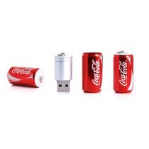 Memoria Usb Lata Coca Cola Roja 4gb, Kingston, Adata