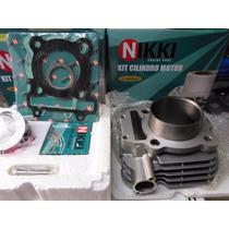 Kit.cilindro Motor Lander/fazer 250 Camisa/pistão/anel