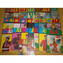 Lote De 21 Comics De La Revista Alf,en Español