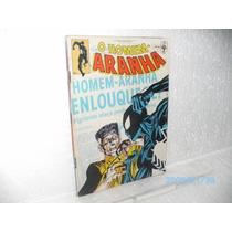 Gibi Homem Aranha Nº 91 Ed. Abril 91- H.a Enlouquece # Hq Fj