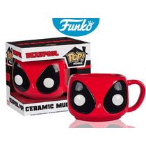 Taza Ceramica Mug Deadpool Funko Pop Home Pelicula Deadpool