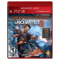 Jogo Semi Novo Uncharted 2 Among Thieves Para Playstation 3
