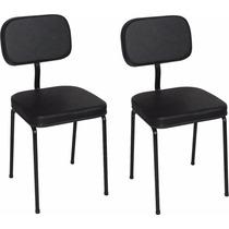 Cadeira Manicure Cliente Mod. S T = 2 Unidades