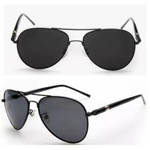 Óculos De Sol Aviador Polarizado Masculino