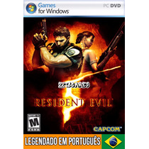 Resident Evil 5 Em Português (mídia Física) Pc