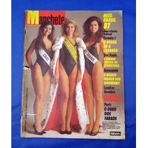 Revista Manchete Numero 1826 - Miss Brasil 87