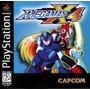 Megaman X4 - Playstation 1 - Psx - Frete Gratis.
