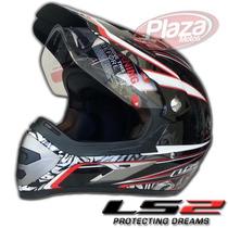 Casco De Motocross Ls2 Mx433 Magnum Interior Removible