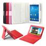 Capa Teclado Bluetooth 7.0 Samsung Galaxy Tab 3 T110 T111