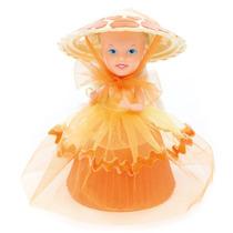 Boneca Da Estrela Cupcake Do Coração Bolo De Laranja