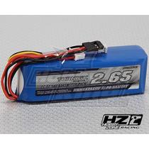 Lipo Bateria Rádio Turnigy 9x 2650 Mah 3s 1c 11.1v Futaba Jr