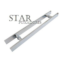 Puxadores Para Porta Blinex (vidro) 30 X20 Escovado