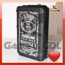 Cigarrera Encendedor Metálica Automática Jack D