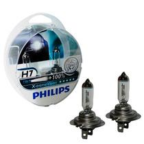 Kit Lâmpada Philips X-treme Vision H7 3350k 55w 12v (par)