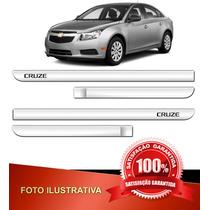 Friso Lateral - Acessórios - Cruze - Chevrolet - Cromado 12/