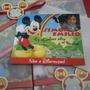 Mickey Mouse Arco Iris - Tarjeta De Invitación