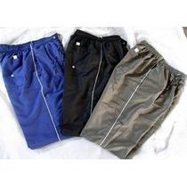 Calça Tactel Com 3 Bolsos Cordão Ajustador Veste Ate 48/50