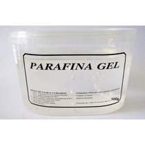 500g Parafina Cristalina Em Gel Vela Artesanal Decorativa
