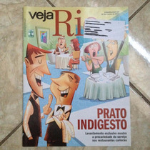 Revista Veja Rio 26/3/2014 Prato Indigesto Serviços Do Rj