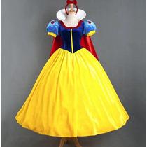 Disfraz Blanca Nieves Princesa Adulto Envío Gratis