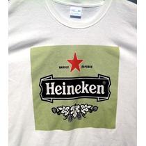 Playera De Heineken Que Cambia De Color Con La Luz Del Sol