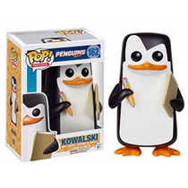 Boneco Kowalski Pinguins De Madagascar Pop Movies 162 Funko