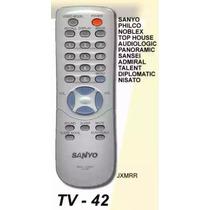 Control Remoto Sanyo Jxmmr 3185 Plaza Once