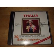 Thalia 20 Exitos Personalidades Cd Nuevo Edicion Limitada