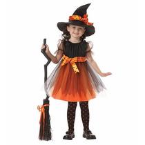 Disfraz Bruja Para Niña, Disfraces Para Halloween