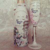 Copas Para Xv Años, Cumpleaños Con Botellas Myweddingglasses