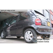 Acople/lip Bomper Trasero Chevrolet Corsa Active