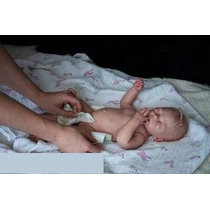 Boneca Bebê Reborn Corpo Vinil Silico Perfeita Recem Nascido