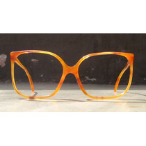 Lentes Vintage Marwitz, Color Caramelo, Nerd, Geek, Fashion