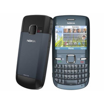 Nokia C3 Wifi Redes Sociales 2.4 2mpx Radio Bluetooth Unefon