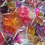 Velas Mini Rosas Para Recuerdos, Aromaticas,flotantes.